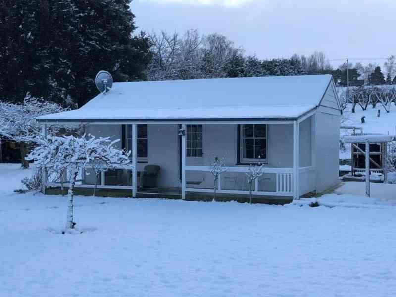 Winter at Granny Stringer's Cottage