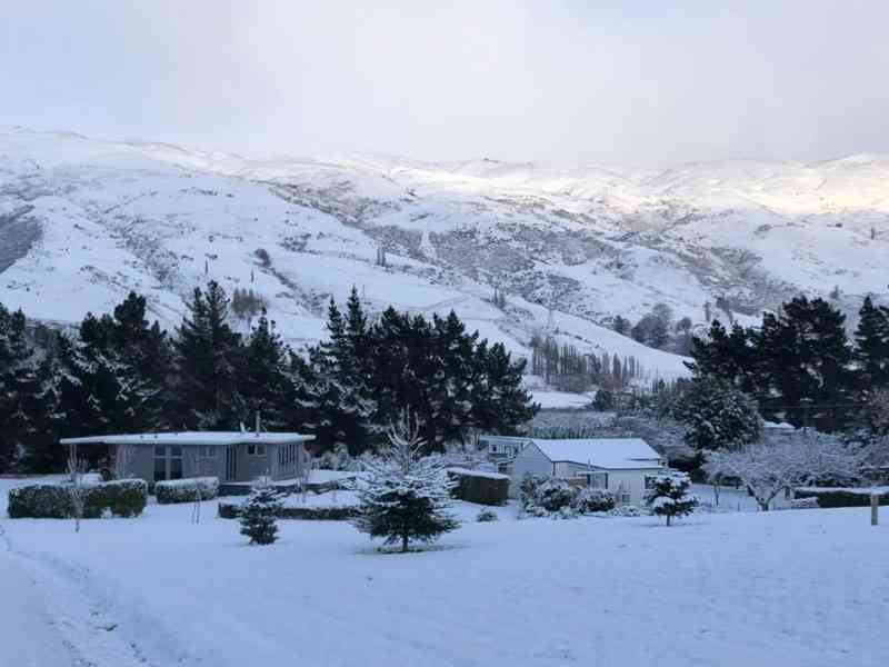 Snow Day at Granny Stringer's Cottage